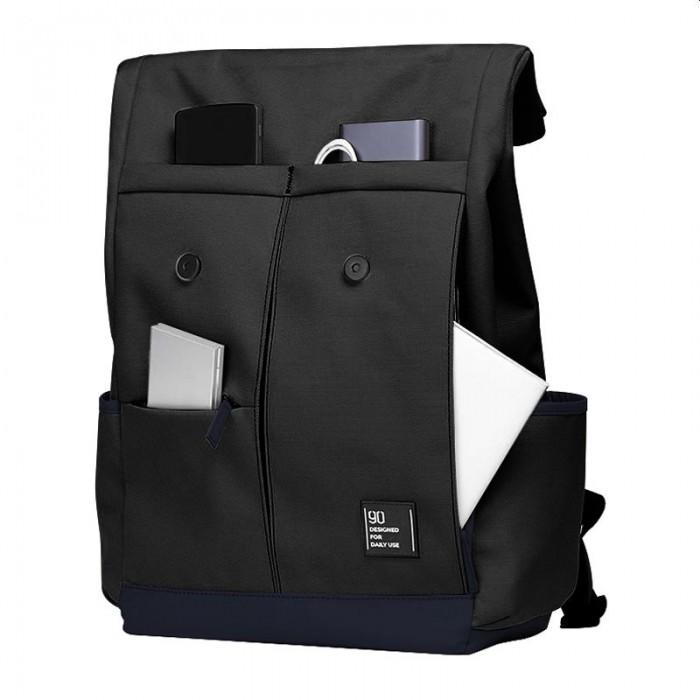 Городской рюкзак Xiaomi 90 Points Vibrant College Casual Backpack, чёрный цвет