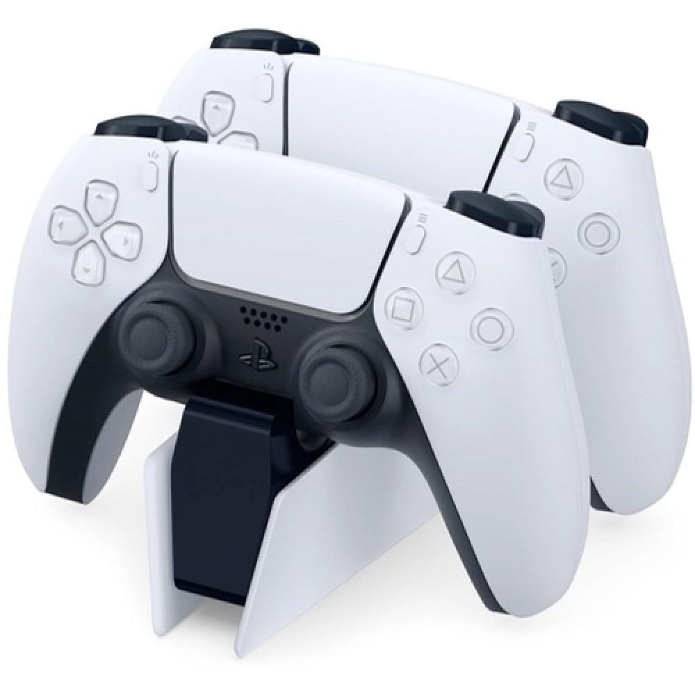 Зарядная станция Sony DualSense на два геймпада для PS5