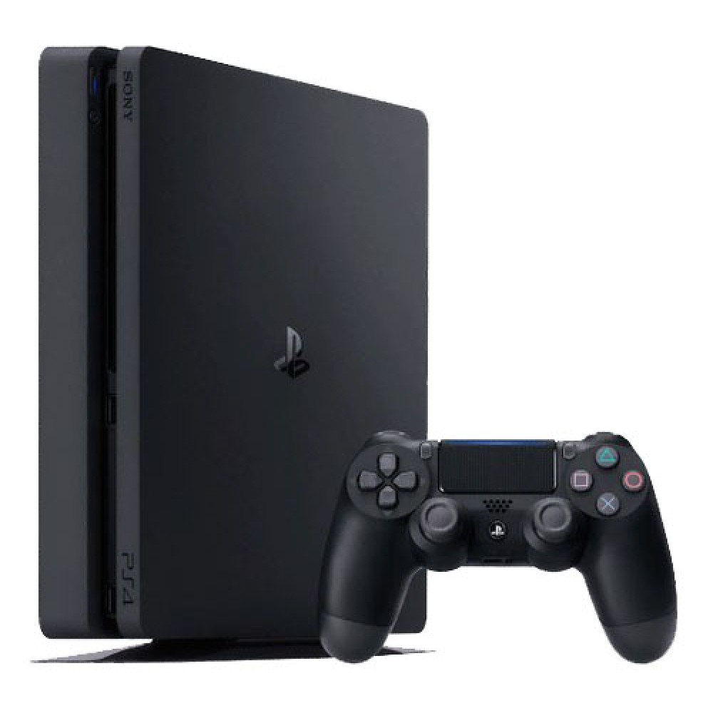 Sony PlayStation 4 Slim 500 ГБ чёрная