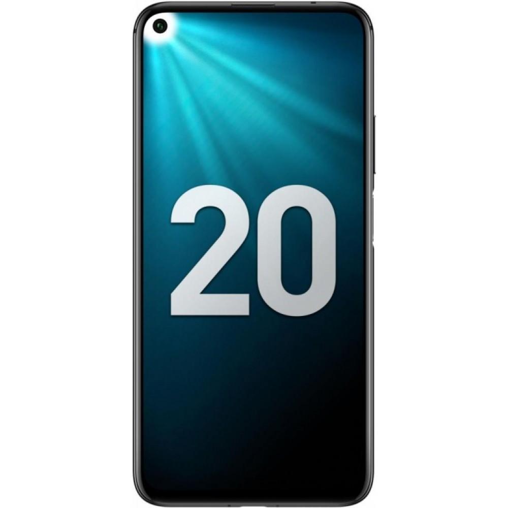 Honor 20 6/128GB полночный чёрный