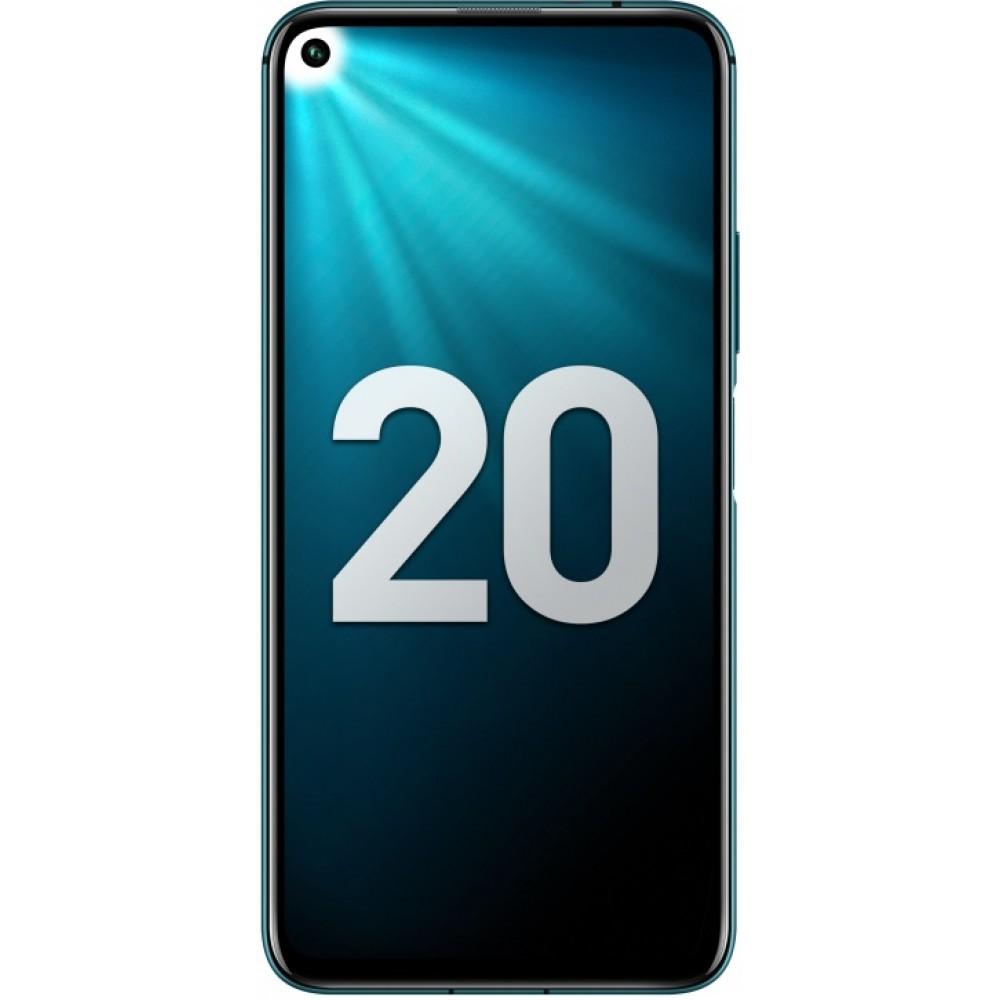 Honor 20 Pro 8/256GB мерцающий бирюзовый