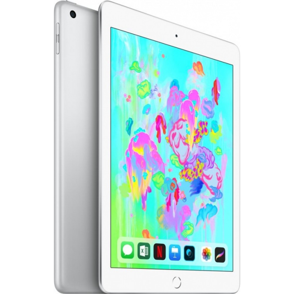 iPad (2018) Wi-Fi 128 ГБ серебристый