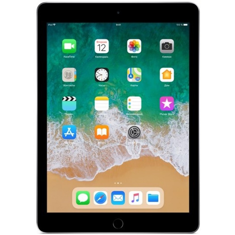iPad (2018) Wi-Fi 32 ГБ «серый космос»