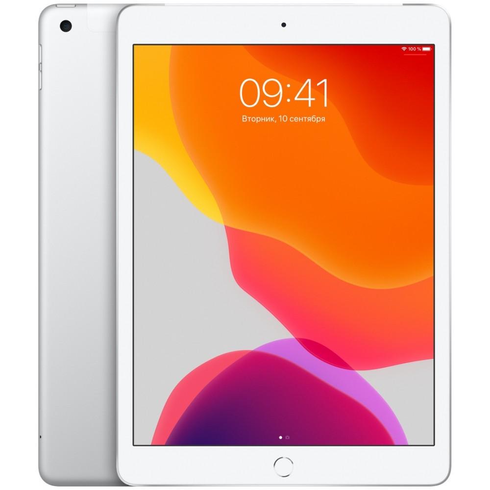 iPad (2019) Wi-Fi + Cellular 32 ГБ серебристый