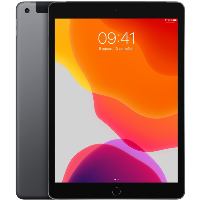iPad (2019) Wi-Fi + Cellular 32 ГБ «серый космос»