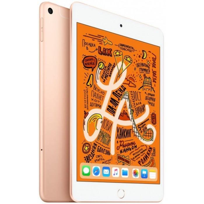 iPad mini (2019) Wi-Fi + Cellular 256 ГБ золотой