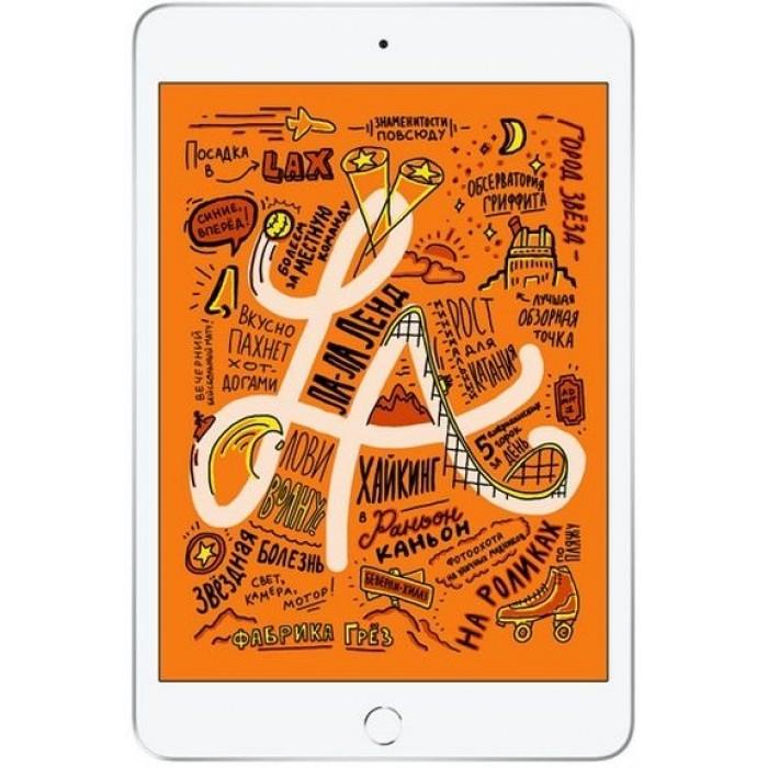 iPad mini (2019) Wi-Fi + Cellular 256 ГБ серебристый