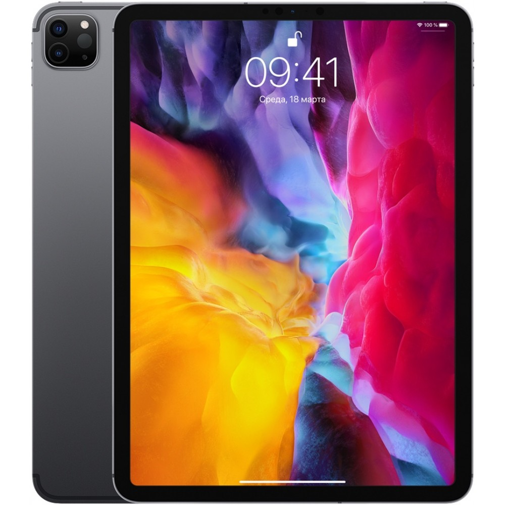 iPad Pro (2020) 11 дюймов Wi-Fi + Cellular 512 ГБ «серый космос»
