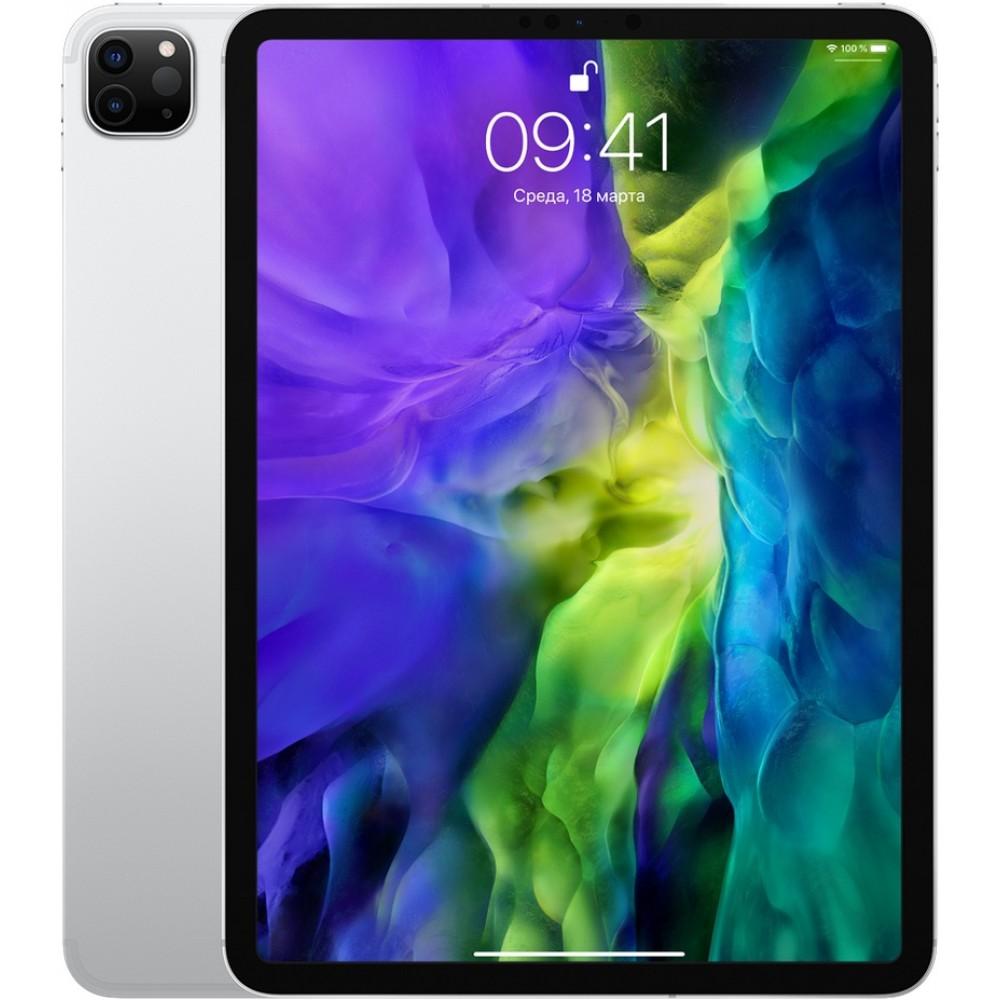 iPad Pro (2020) 11 дюймов Wi-Fi + Cellular 512 ГБ серебристый