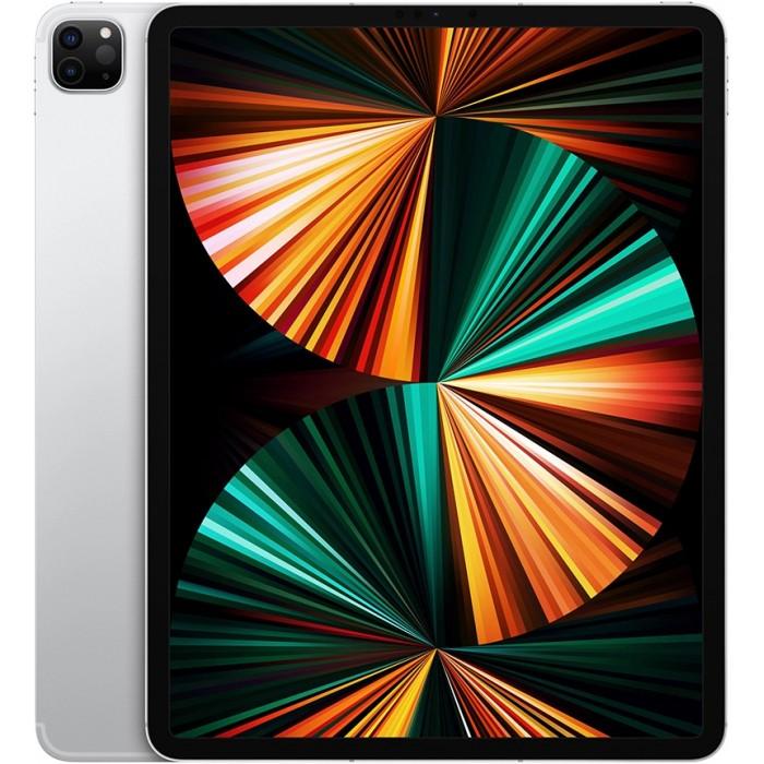 iPad Pro (2021) 12,9 дюйма Wi-Fi + Cellular 256 ГБ Серебристый
