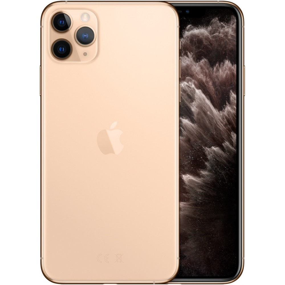 iPhone 11 Pro Max (Dual SIM) 256 ГБ золотой