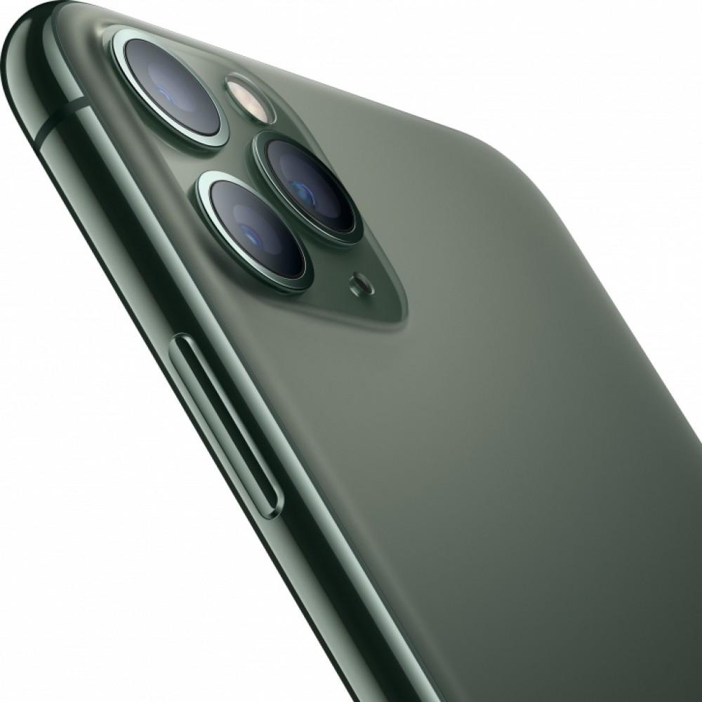 iPhone 11 Pro Max (Dual SIM) 64 ГБ тёмно-зелёный