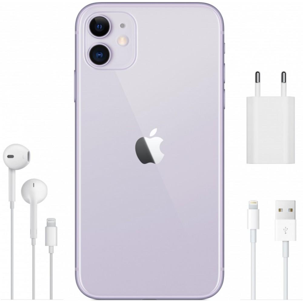 iPhone 11 64 ГБ фиолетовый