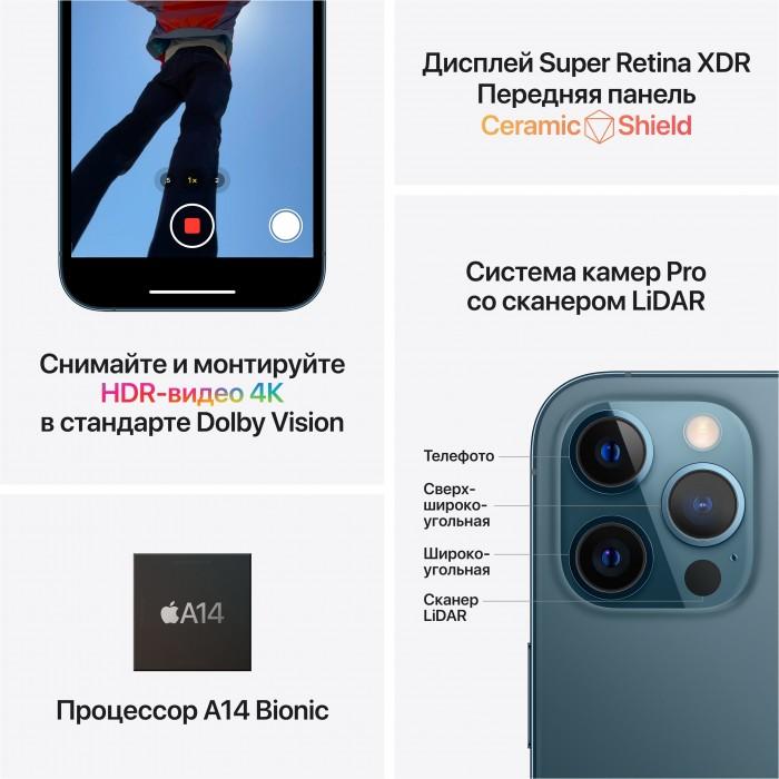 iPhone 12 Pro Max (2 SIM) 512 ГБ серебристый
