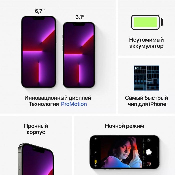 iPhone 13 Pro 128 ГБ графитовый
