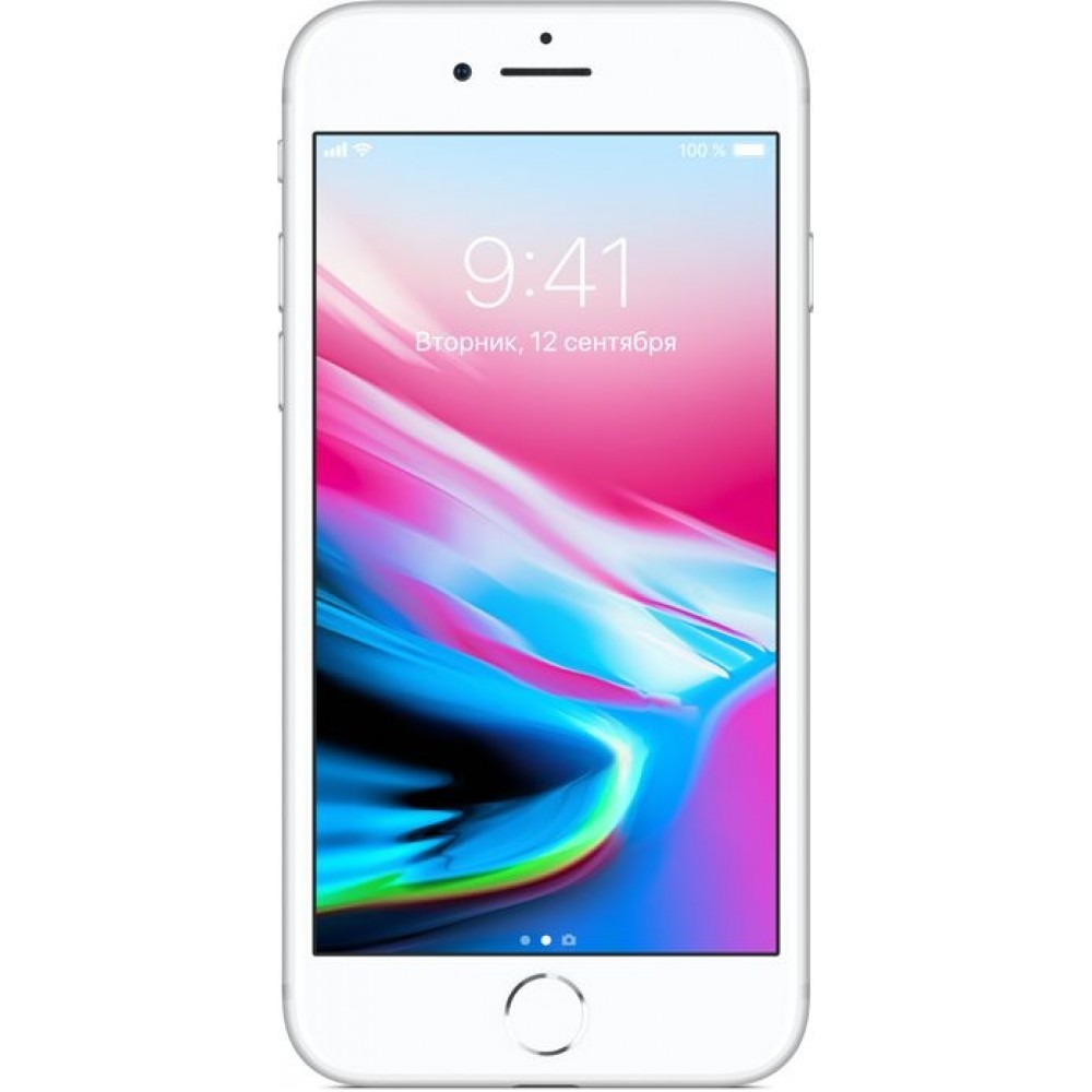 iPhone 8 128 ГБ серебристый