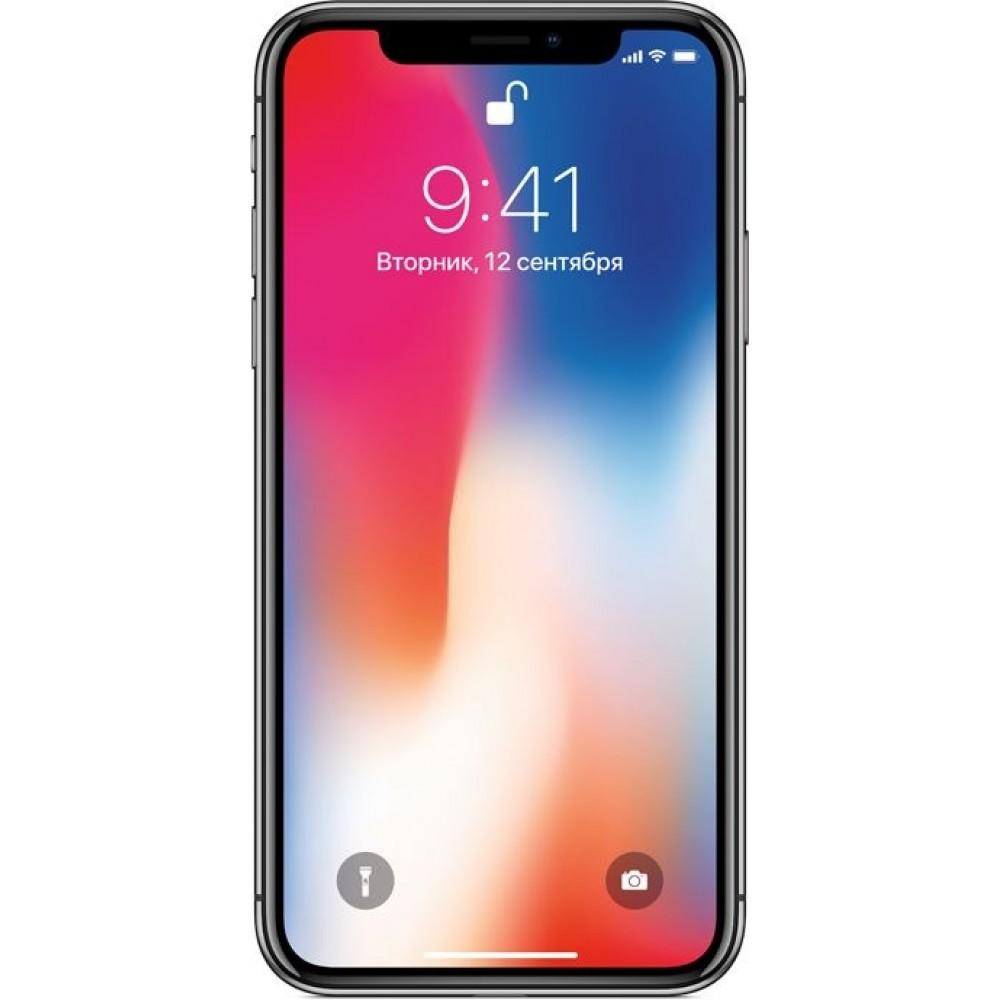 iPhone X (Как новый) 256 ГБ «серый космос»