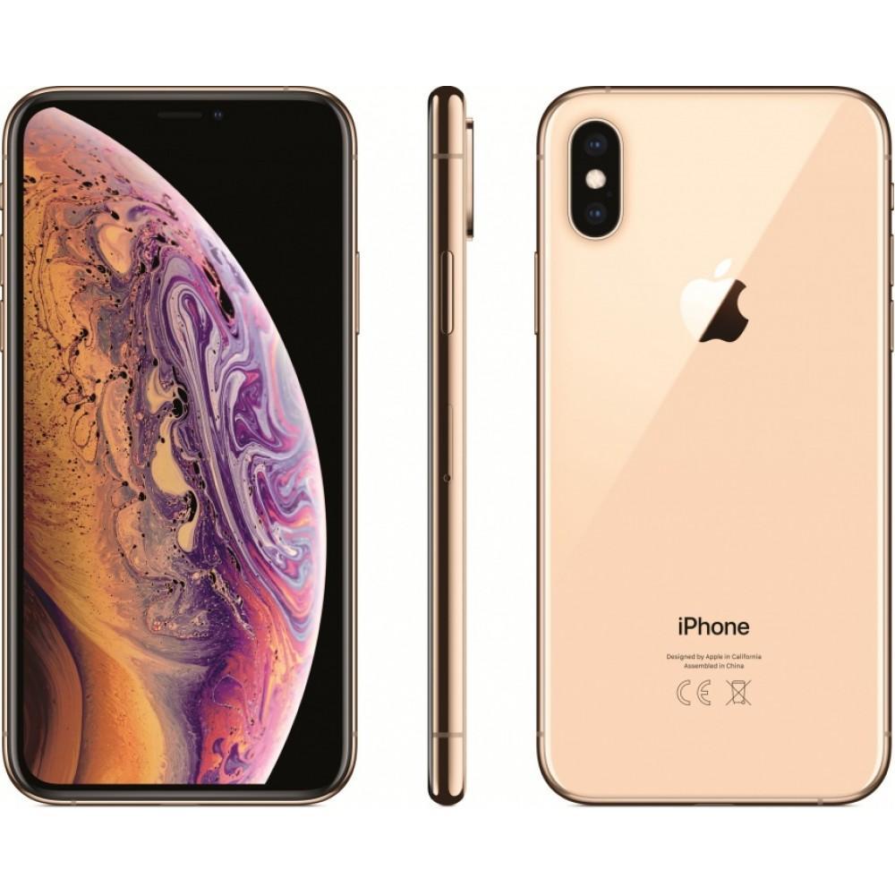 iPhone XS 256 ГБ золотой