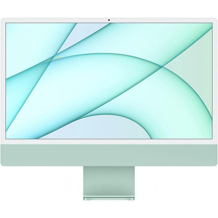 """iMac 24"""" 2021, Retina 4.5K, M1, 8-core GPU, 8 ГБ, 256 ГБ SSD, зелёный"""
