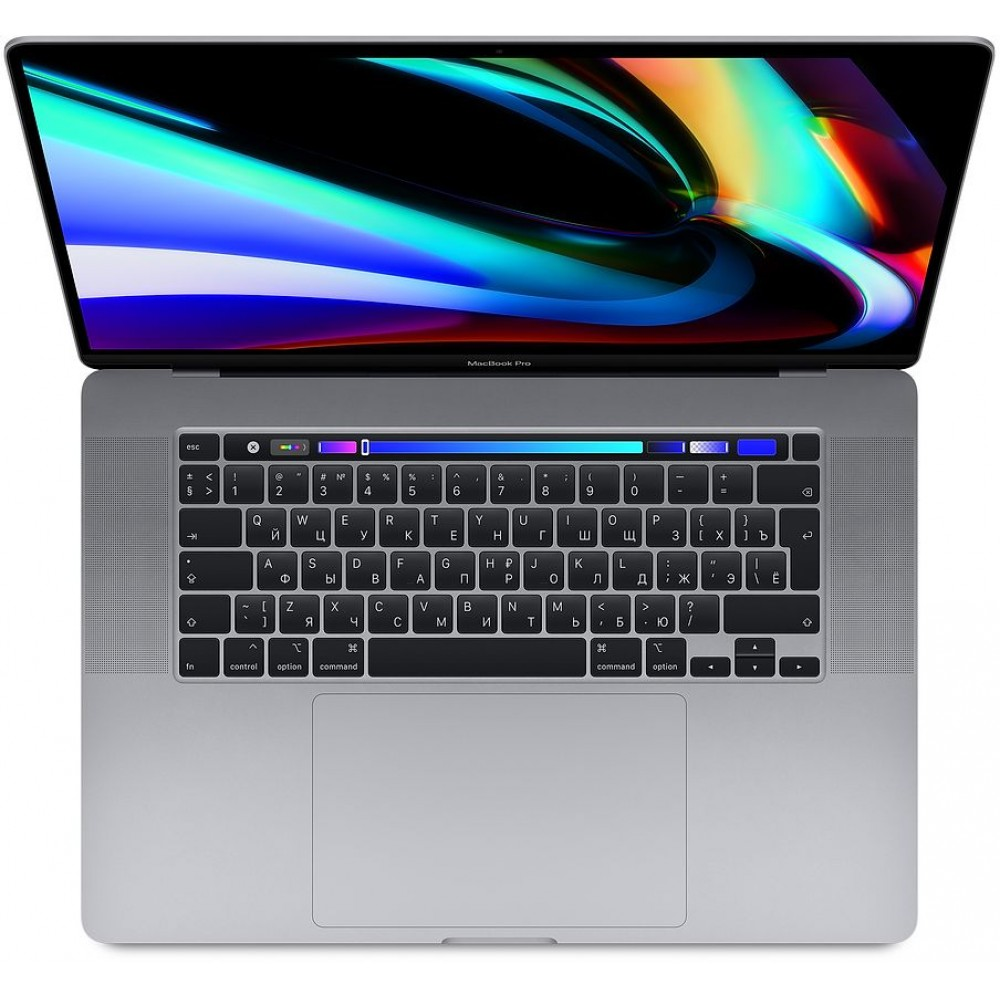 "MacBook Pro 16 with Retina display and Touch Bar Late 2019 (Intel Core i9 2300MHz/16""/3072x1920/16GB/1024GB SSD/DVD нет/AMD Radeon Pro 5500M 4GB/Wi-Fi/Bluetooth/macOS), «серый космос»"