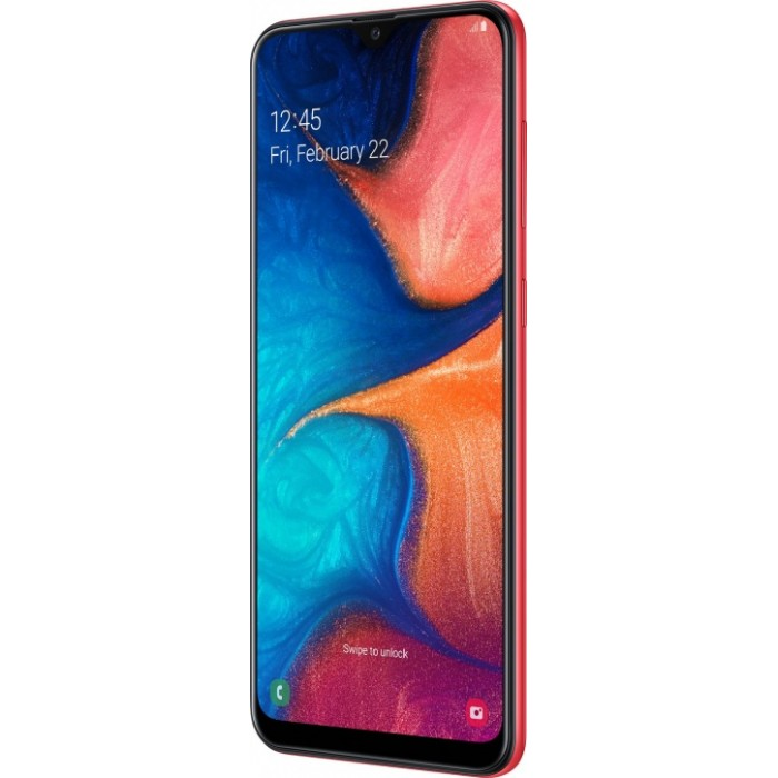 Samsung Galaxy A20 32GB Красный
