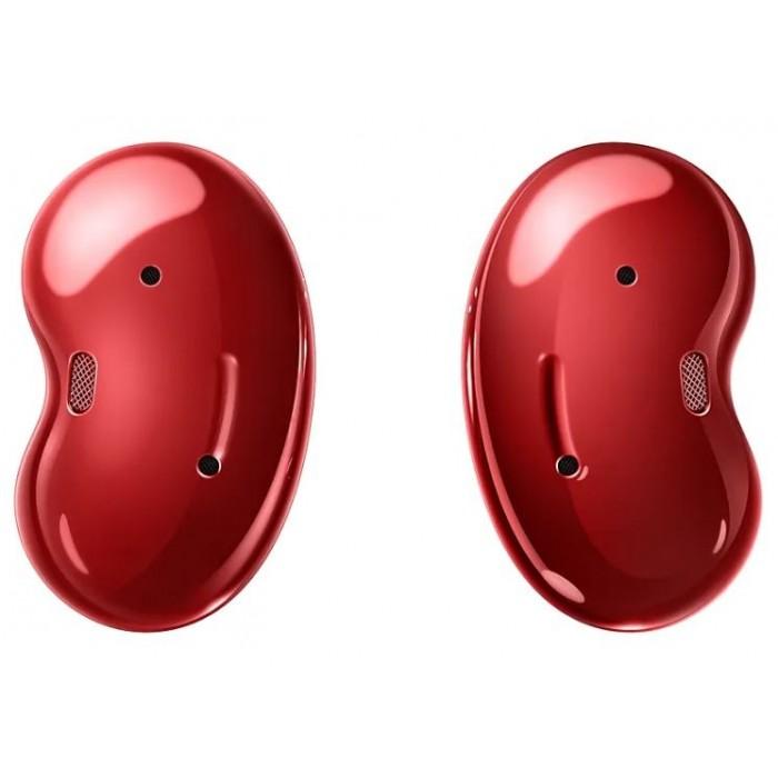 Samsung Galaxy Buds Live, красный цвет
