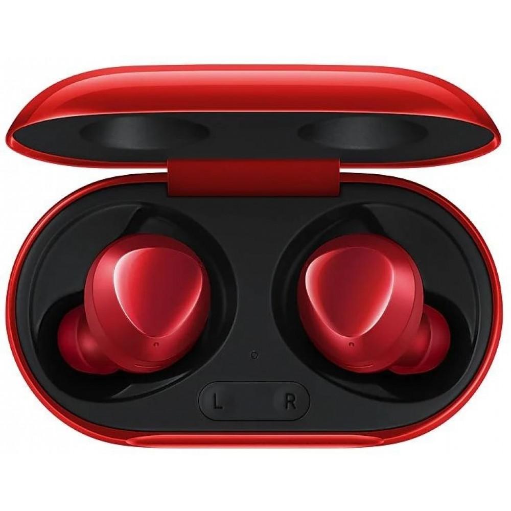 Samsung Galaxy Buds+, красный цвет
