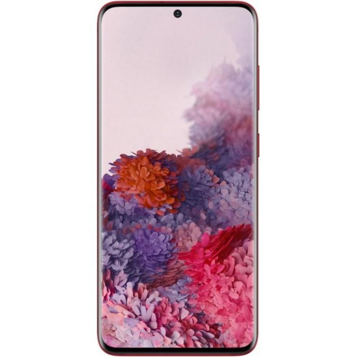 Samsung Galaxy S20 Красный