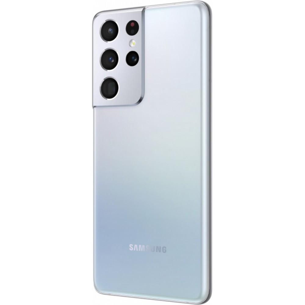 Samsung Galaxy S21 Ultra 5G 12/256GB Серебряный фантом